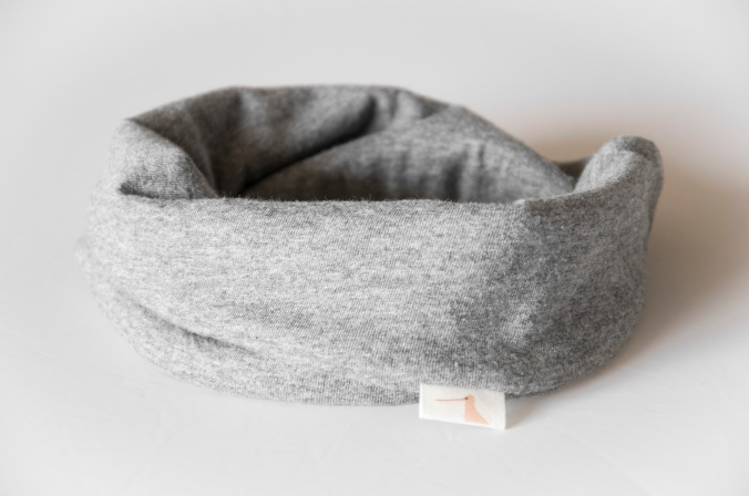 jersey scarf bib grey2